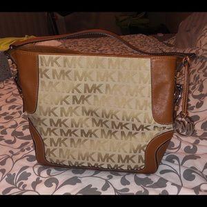 Michael Kors Large Brookville Signature Bag